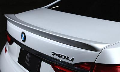 Спойлер на крышку багажника 3D Design для BMW 7-Series G11/G12