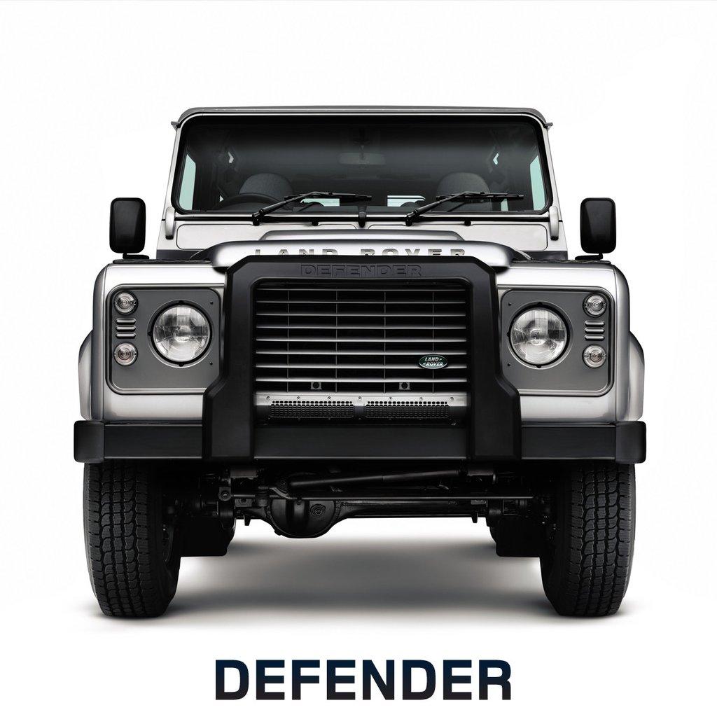 Передняя защита (полиуретан) для Land Rover Defender