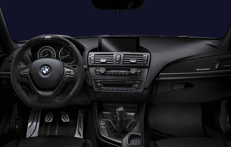 Накладки для салона карбон / алькантара M Performance для BMW 1 Series F20/F21