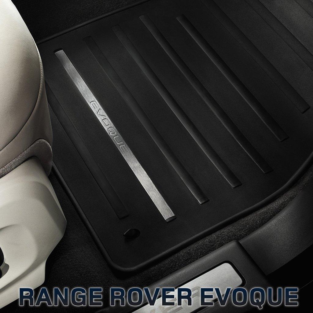 Резиновые ковры салона для Range Rover Evoque