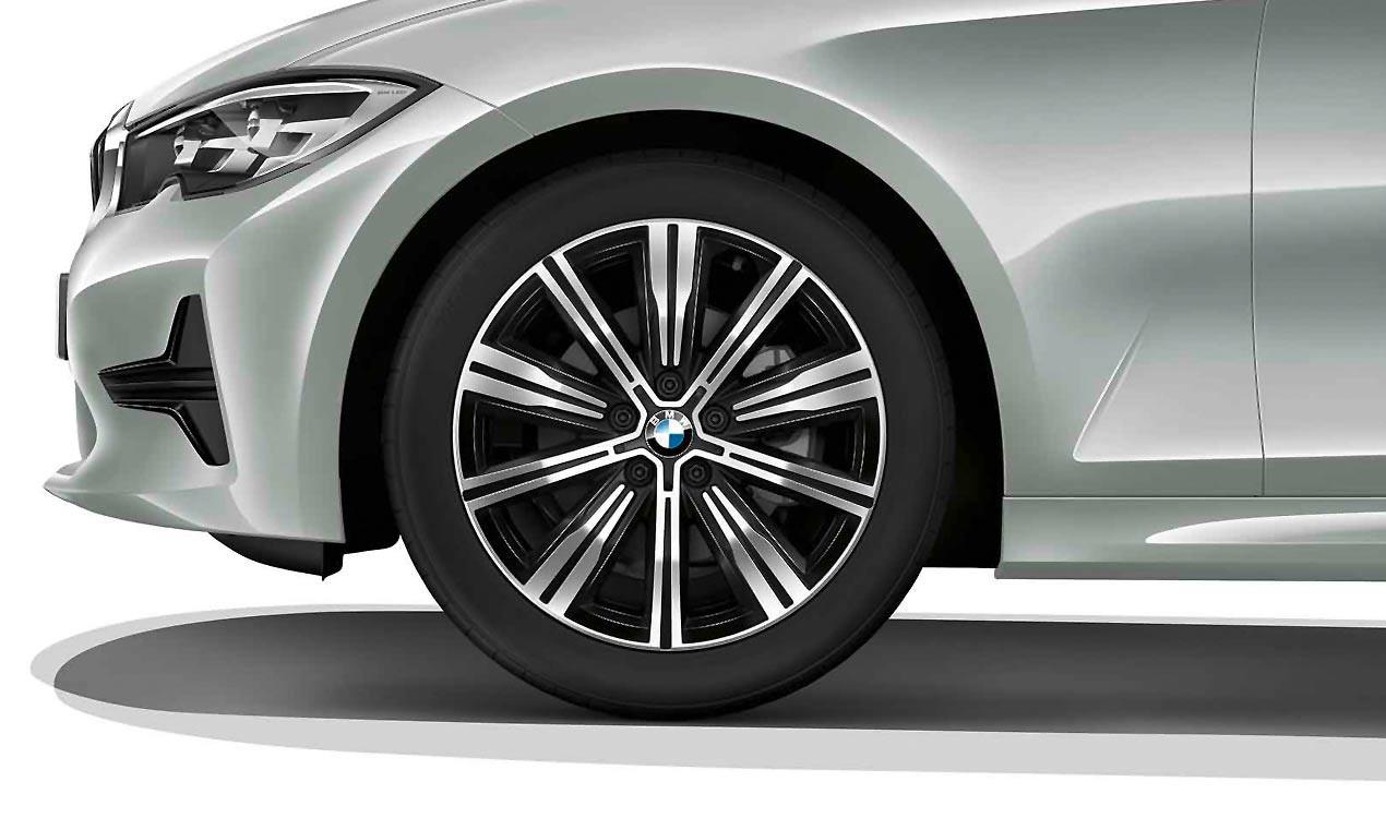 Легкосплавный колесный диск (сдвоенные спицы) 782 для BMW 3 Series G20/G21