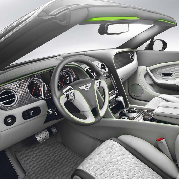 Карбоновые элементы салона Startech для Bentley Flying Spur 2016-