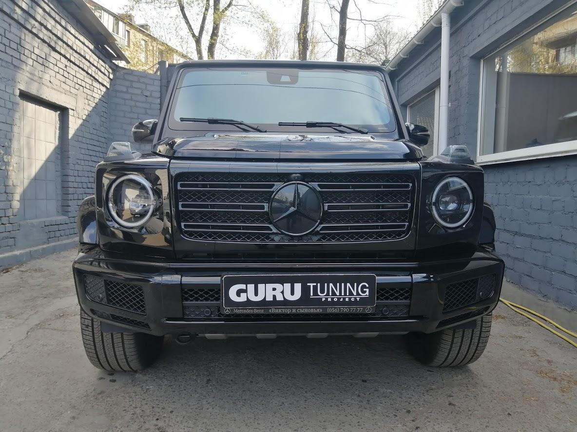 Night пакет Mercedes G W464 (антихром)