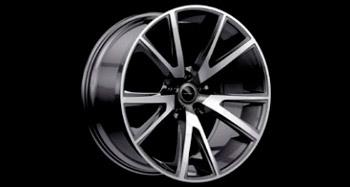 Легкосплавный колесный диск Y.5 R22 Diamond Black Mansory для Porsche Panamera Sport Turismo