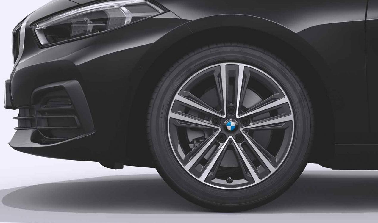 Легкосплавный колесный диск (сдвоенные спицы) 548 для BMW 1 Series F40