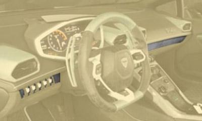 Центральный молдинг (карбон) Mansory для Lamborghini Huracan