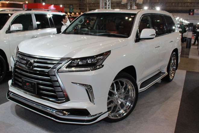 Обвес ELFORD FOR MODELLISTA для LEXUS LX570 LX450D