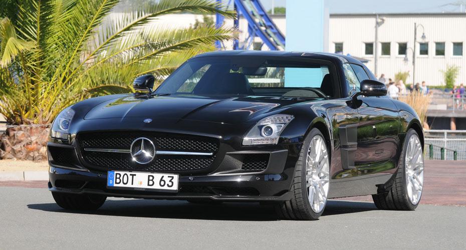 Обвес Brabus Star для Mercedes SLS