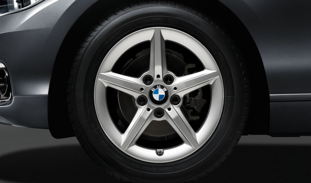 Легкосплавное дисковое колесо (звездообразные спицы) 654 для BMW 2 Series F22