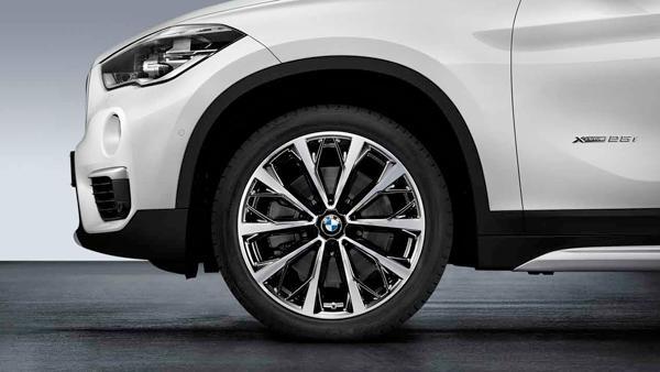 Легкосплавный колесный диск (V-образные спицы) 573 для BMW X1 F48