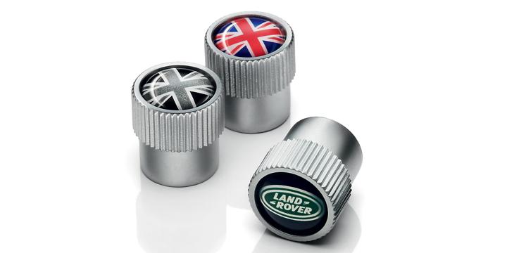 Комплект колпачков на вентиль для Land Rover Freelander
