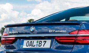 Спойлер на крышку багажника Alpina для BMW 7-Series G11/G12