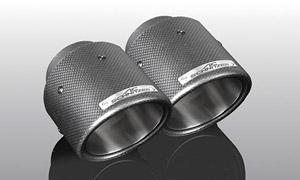 Карбоновые насадки на глушители AC Schnitzer для BMW X2 F39