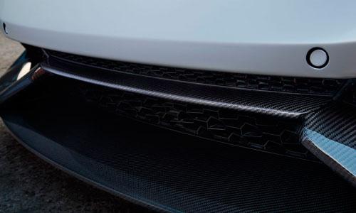 Вставка в передний бампер (карбон) Novitec для Lamborghini Huracan LP 610