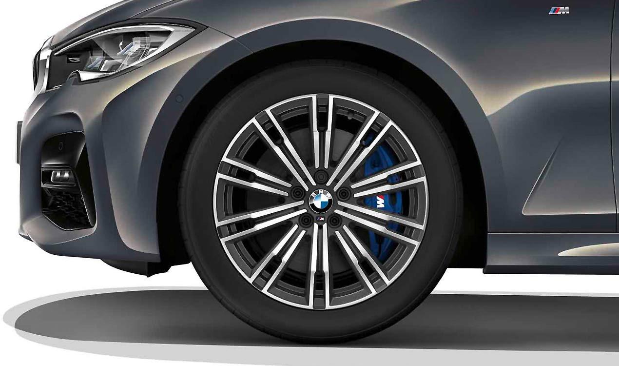 Легкосплавный колесный диск (сдвоенные спицы) 790M для BMW 3 Series G20/G21