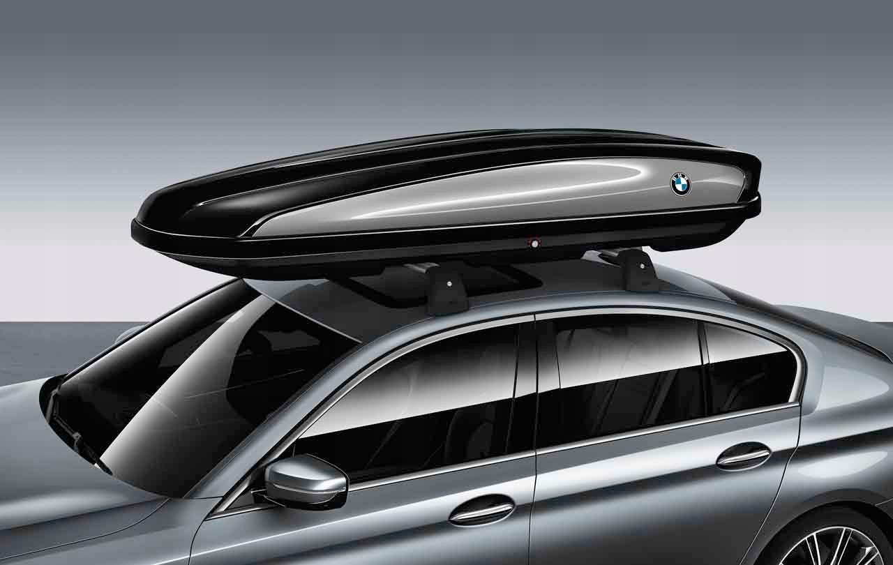 Багажник на крыше 520 Schwarz для BMW 1 Series F20/F21