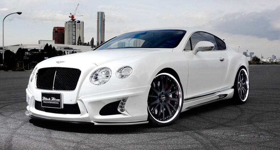 Тюнинг WALD Black Bison для Bentley Continental GT II