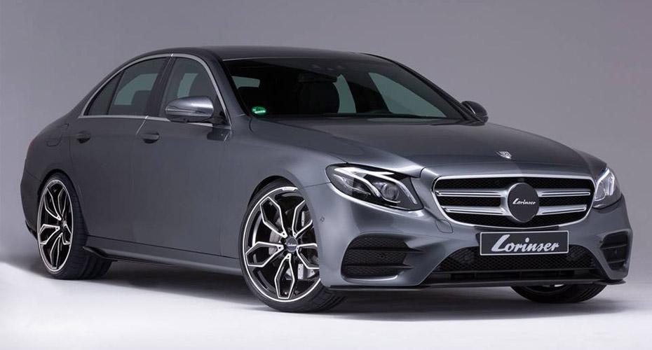 Тюнинг Lorinser для Mercedes E-class W213