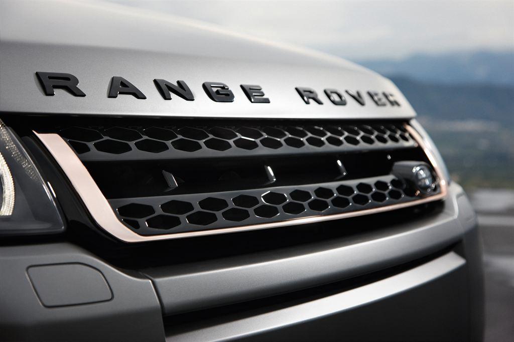 Решетка радиатора (Black) Limited Edition Victoria Beckham для Range Rover Evoque