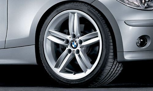 Легкосплавное дисковое колесо (сдвоенные спицы) 208 М для BMW 1 Series E81/E87