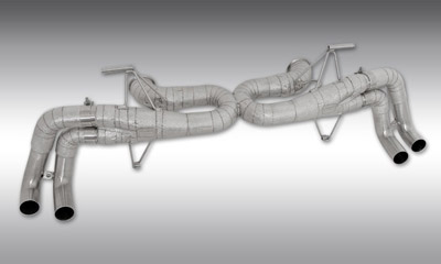 Выхлопная система Race (с регулировкой уровня звука) Novitec для Lamborghini Huracan LP 610