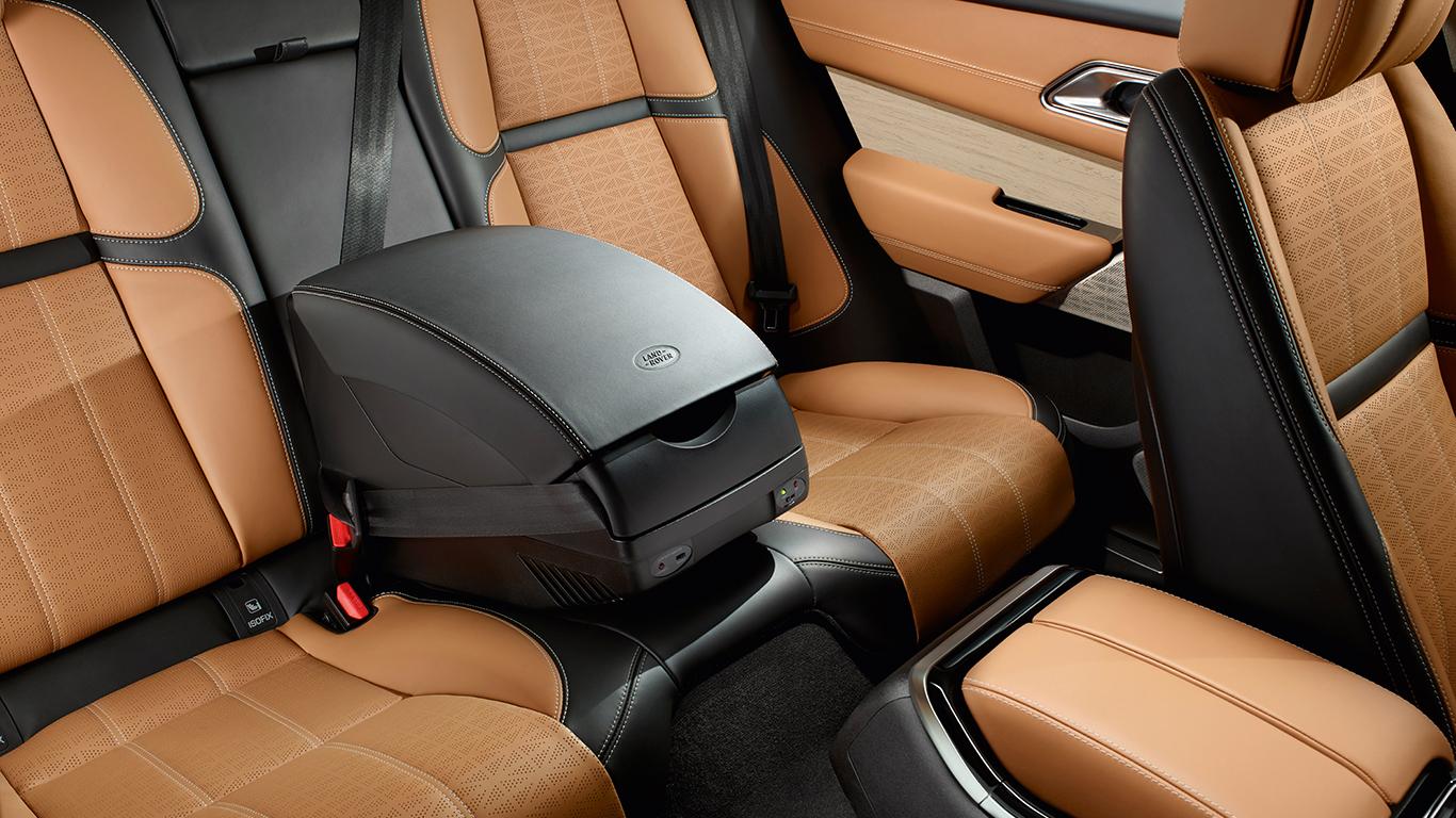 Холодильник, подлокотник с охлаждением и подогревом продуктов для Land Rover Discovery Sport 2015 -