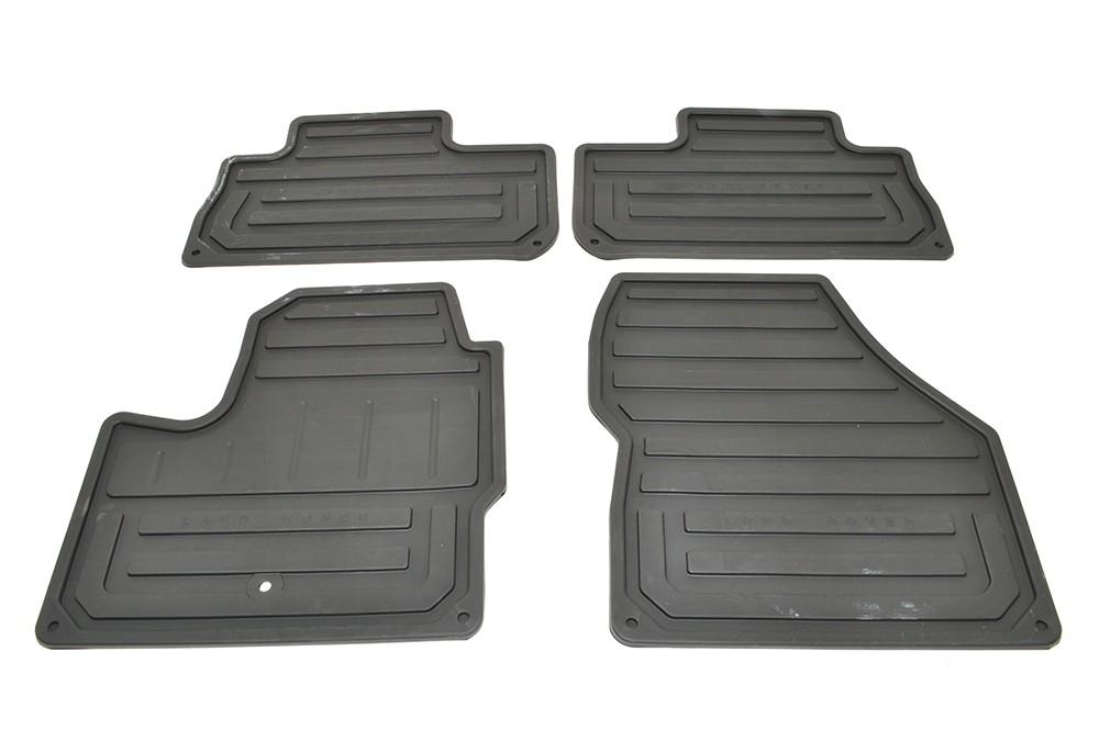 Резиновые ковры салона для Land Rover Freelander