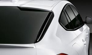 Накладки на крышку багажника (черные) M Performance для BMW X6 G06