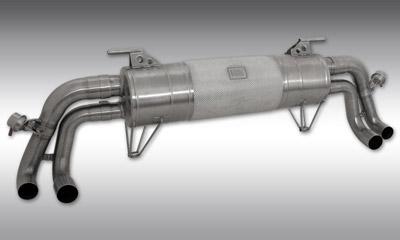 Выхлопная система (с регулировкой уровня звука) Novitec для Lamborghini Huracan LP 610