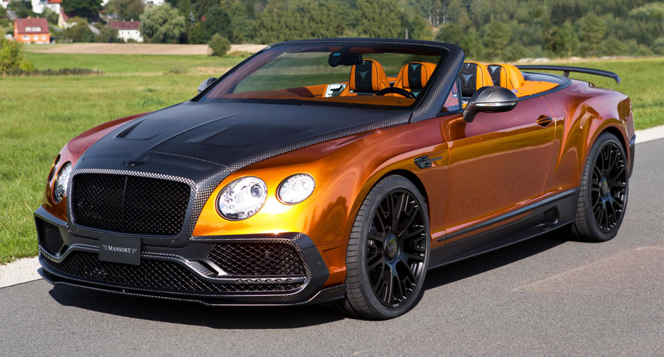 Тюнинг Mansory для Bentley Continental GT II