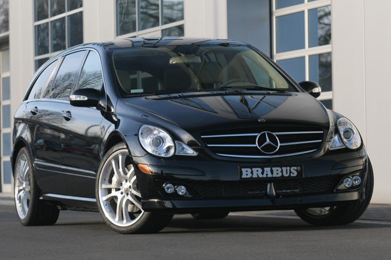Аэродинамический обвес Brabus для Mercedes R-class W251