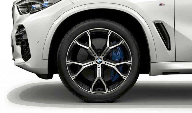 Легкосплавный колесный диск (Y-образные спицы) 741M для BMW X6 G06