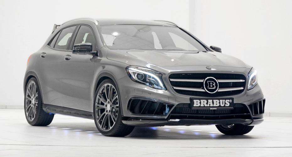 Обвес Brabus AMG для Mercedes GLA-class X156