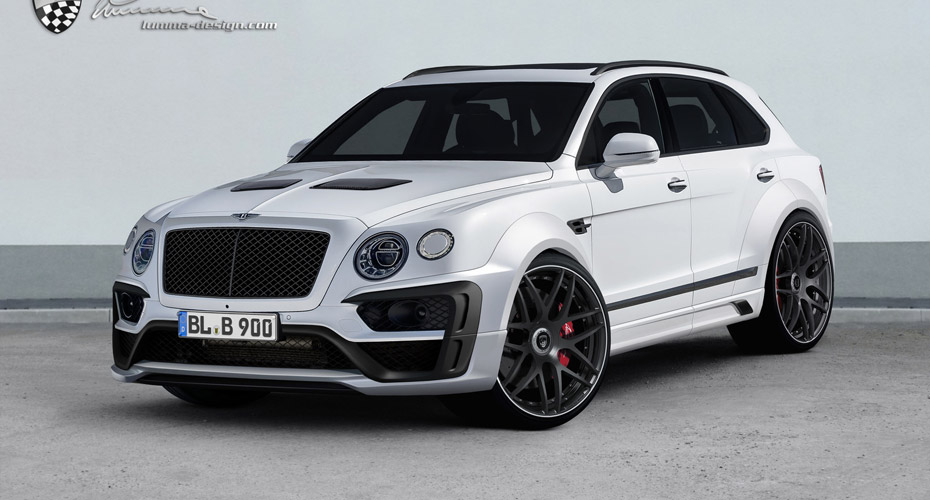 Обвес Lumma CLR B900 для Bentley Bentayga