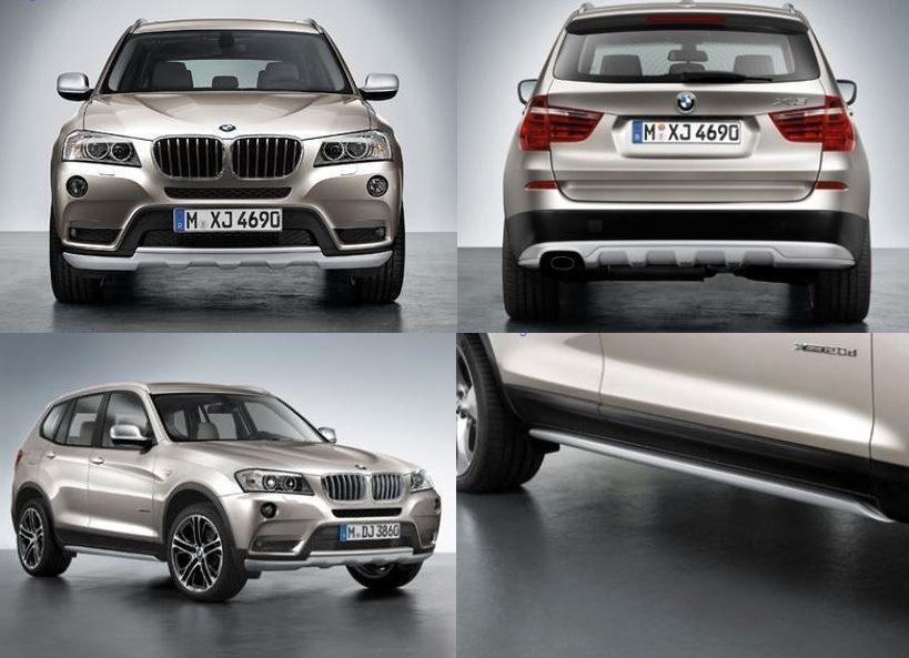 Рестайлинговый пакет X Line Pro для BMW X3 F25