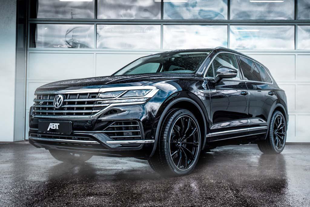 Новый Volkswagen Touareg получит тюнинг от ателье ABT