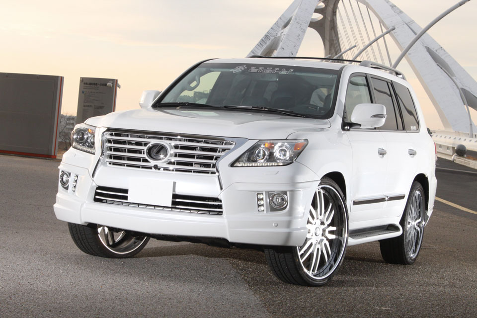 Обвес Double Eight для Lexus LX570 2012-2015