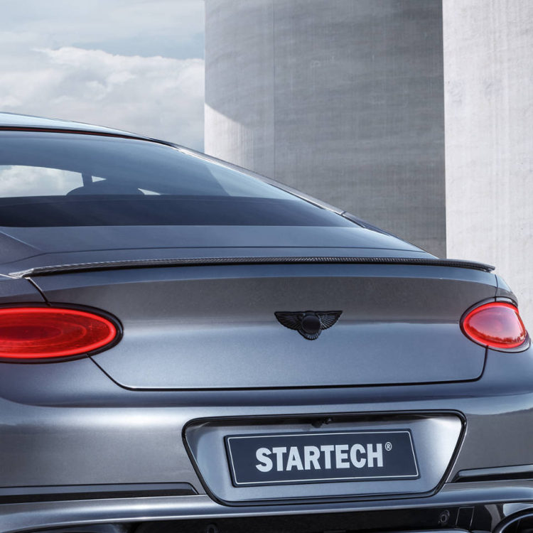 Карбоновый спойлер Startech для Bentley Continental GT/GTC 2018-