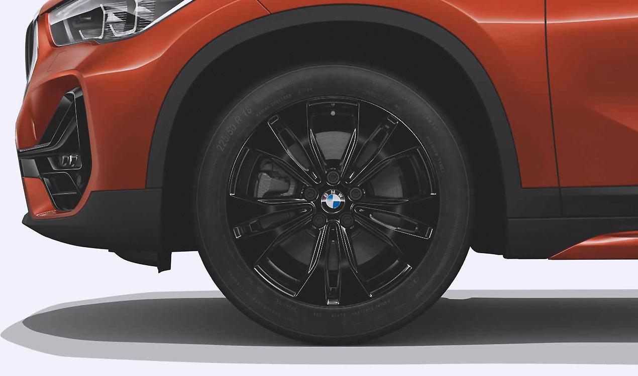 Легкосплавное дисковое колесо (сдвоенные спицы) 578 для BMW X1 F49 LCI