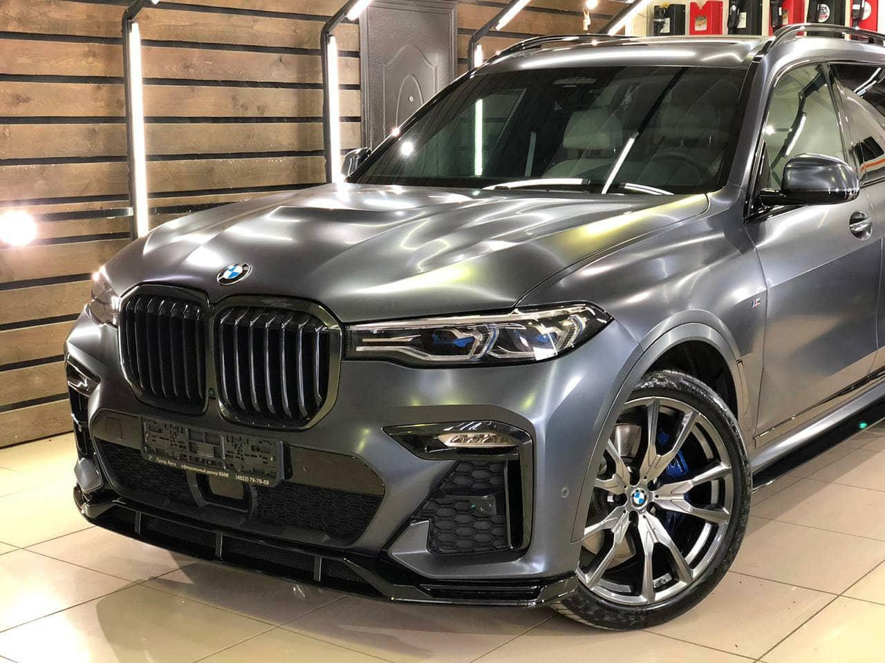 Губа Renegade для BMW X7