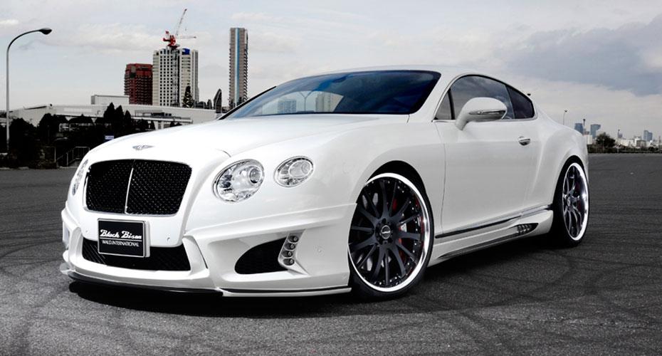 Тюнинг WALD Black Bison для Bentley Continental GT II