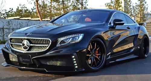 Обвес VITT Squalo для Mercedes S-class Coupe C217