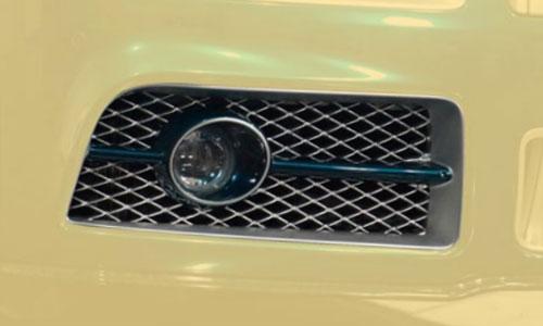 Вставки в передний бампер (с оптикой) Mansory для Rolls-Royce Wraith