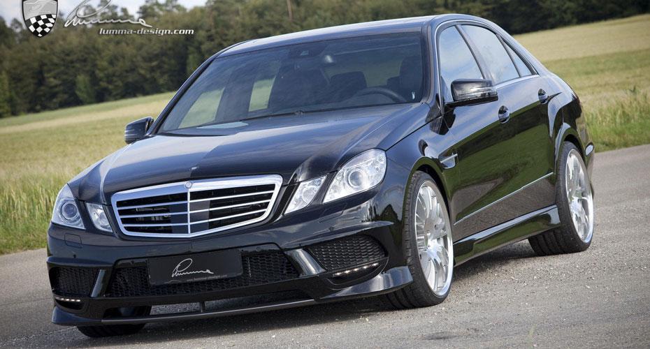 Аэродинамический обвес Lumma E 50 CLR для Mercedes E-class W212