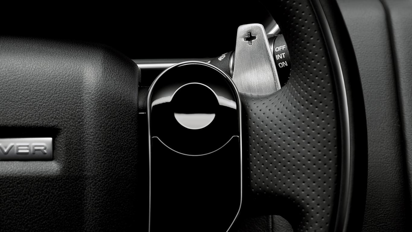 Подрулевые лепестки переключения передач (анодированное серебро) для Range Rover Evoque