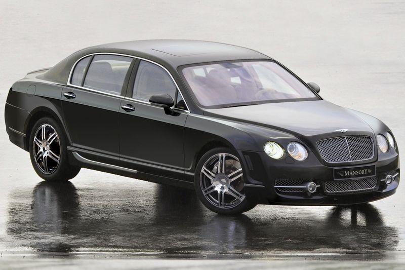Тюнинг Mansory для Bentley Continental Flying Spur