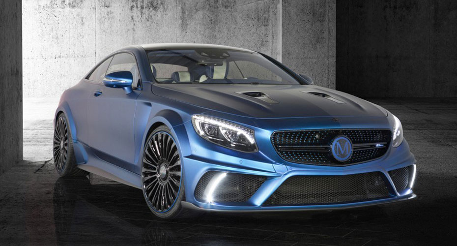 Тюнинг Mansory для Mercedes S-class Coupe C217