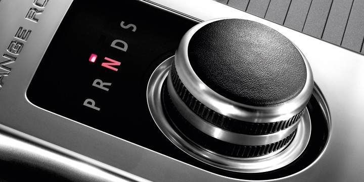 Рукоятка рычага передач (анодированное серебро) для Range Rover Evoque
