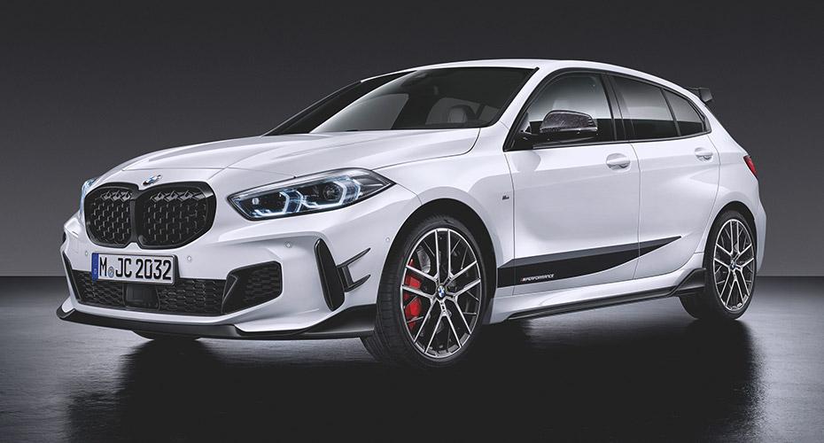 Аэродинамический обвес M Performance для BMW 1 Series F40