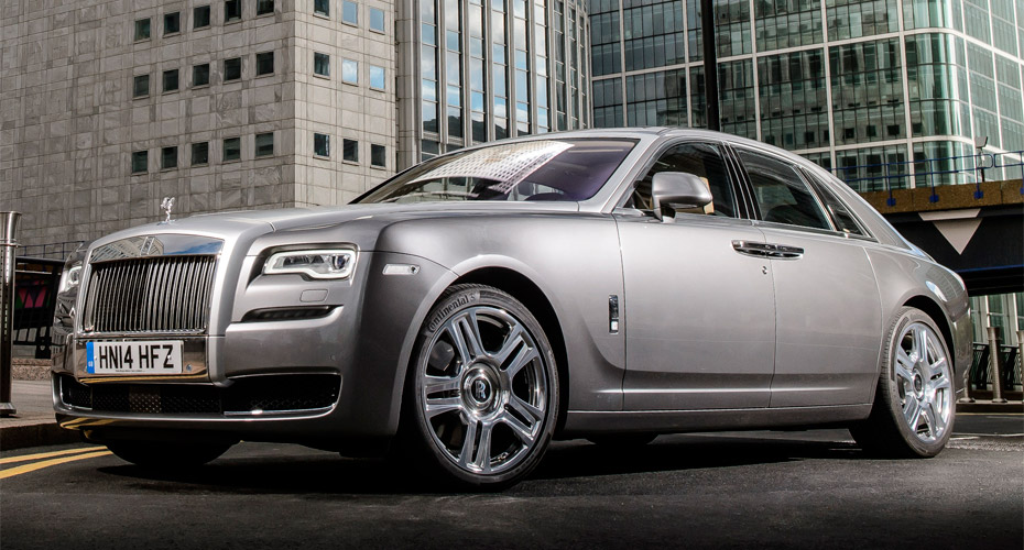 Рестайлинг (в 2015 модельный год) для Rolls-Royce Ghost
